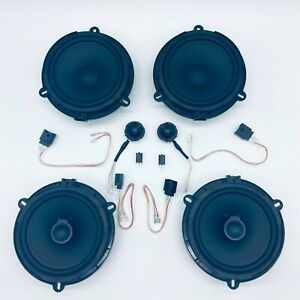 For Ford Ranger Complete Front and Rear Speaker Upgrade *PLUG AND PLAY*