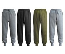 HNL Mens Jogging Bottoms Plain Tracksuit Pants Sports Gym Jogging Joggers