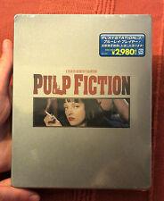 NEW OOP JAPANESE PULP FICTION REGION FREE STEELBOOK ***FREE WORLDWIDE POSTAGE***