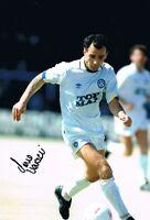 Signed Imri Varadi Leeds United Autograph Photo 1992 League Championship Winner