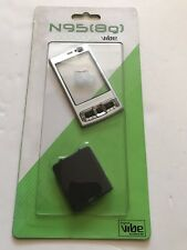 Nokia N95 8gb Full FasciaHousing Cover Front Back Case Keypad Replacement Silver