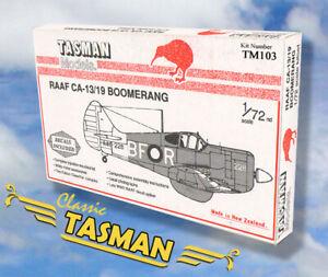 Tasman 1/72 RAAF CAC CA-13/19 Boomernag