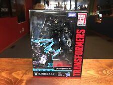 2018 Transformers Studio Series Movie 1 Deluxe Figure MOC - #28 BARRICADE