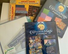 Disney Scrapbook Paper and Sticker Supplies
