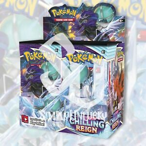 Pokemon TCG: CHILLING REIGN Booster Box FACTORY SEALED 36 Packs PRESALE 06/18/21