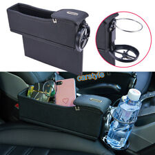 1x Car Right Seat Gap Slit Catcher Catch Caddy Organizer Coin Storage Cup Holder