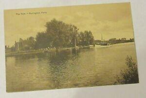 The Yare, Surlingham Ferry. Jarrolds Series 7665. Old Postcard