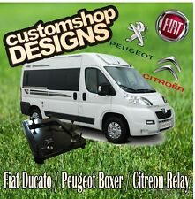 Ducato, Relay, Boxer Motorhome Double Seat Swivel Base (RHD UK Model)