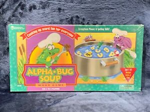 Alpha Bug Soup Learning Resources Phonics Word Spelling Home School NEW Sealed