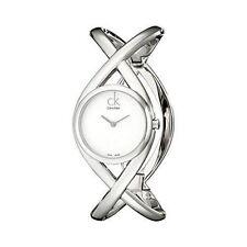 Calvin Klein Silver Case Casual Wristwatches