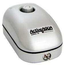 Active Aqua Air Pump Adjustable Flow Aquarium Fountain Pond Hydroponics 1 Outlet