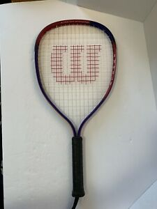 """Wilson Express Stretch 22"""" Racquetball racquet Endorsed by Cliff Swain w/Cover"""