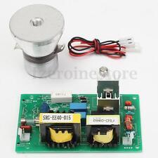 AC 100W 220V Tarjeta de Controladores de generador de limpieza por ultrasonidos + 60W 28KHz Transducer
