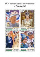 Niger - 2018 Queen Elizabeth II - 4 Stamp Sheet - NIG18403a