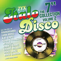 CD ZYX Italo Disco The 7 Collection Vol.2 von Various Artists  2CDs