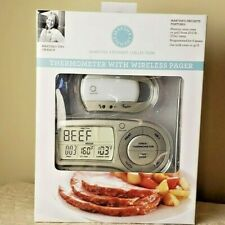 Martha Stewart Bronze TAYLOR Thermometer w/ Wireless Pager - New In Box (Macy's)