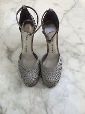 Marc Jacobs rose or Diamante Stiletto Hauts with Bottillons Strap Size 38