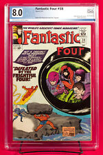 FANTASTIC FOUR #38 (Marvel 1965) PGX 8.0 VF Very Fine Wecome the Trapster + CGC!