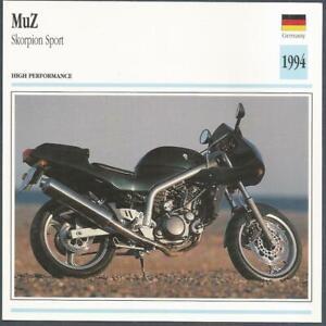 EDITO SERVICE S A CLASSIC MOTORCYCLES-1994-MUZ-SKORPION SPORT