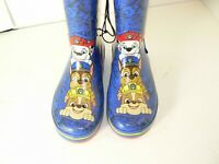 Nickelodeon Toddler Boys Rain Boots Paw Patrol Sz 5 / 6 New w Tags Ships Free!