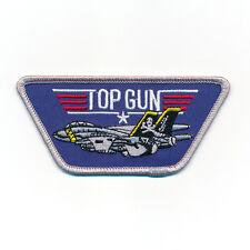 TOP GUN Navy Fighter USA Weapons School Top Gun Patch Aufnäher Aufbügler 0524