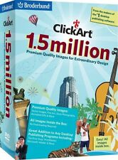 Clickart 1.5 million (for PC) *New,Sealed*