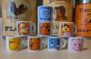 Winnie The Pooh Ceramic Mini Mugs
