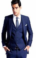 Benutzerdefinierte 3 Stück formale Anzug Spitze Revers Bräutigam Hochzeit Smokin