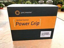 Promaster vertical control power grip for Canon EOS 7D Mark II