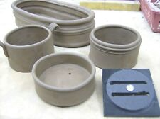 """Multi Wall Extruder Die, clay pottery tools, 4-1/8"""" x 4-1/8"""""""