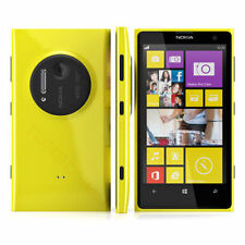 "Windows 8 32G Unlocked 4.5"" NOKIA LUMIA 1020 4G LTE Smartphone Dual Core Yellow"