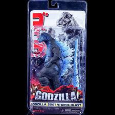 Godzilla 2001 Atomic Blast Blue  Action Figure  Head To Tail Movie New