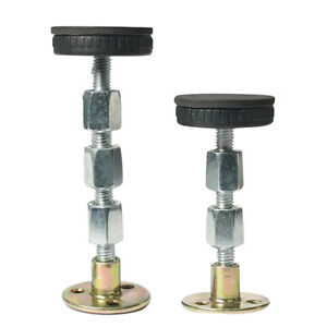 2Pcs Adjustable Threaded Bed Frame Anti-Shake Tool For Bed Sofa Table 64-110MM H