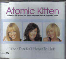 Atomic Kitten-Love Doesnt Have To Hurt cd maxi single incl video