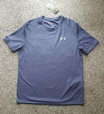 Mens Under Armour Heat Gear T Shirt Size L Colour Purple
