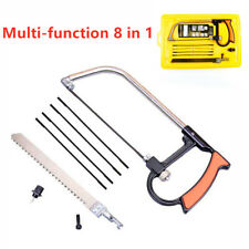Multifunctional Mini saw woodworking wire manual devil s Hacksaw Hand Tool 8in1