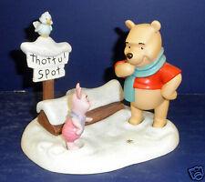 Enesco Winnie the Pooh Figurine- Pooh & Piglet- New in Box-  RETIRED- #1205542