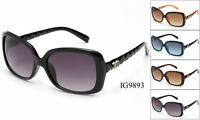12 Pairs New Women Old Fashion Vintage Plastic Designer Sunglasses Wholesale