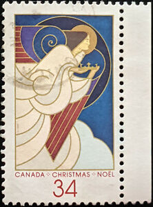 Stamp Canada SG1219 1986 34c Christmas Used