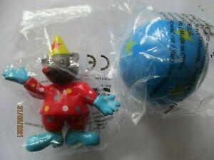 "Figurine Petit ours Brun  "" Clown "" Neuf sous blister"