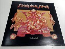 Black Sabbath Bloody Sabbath 2/2 PRESS EX Vinyl Record LP & lyric insert WWA 005