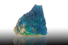 """5.1"""" Sparkly Navy Blue CORNETITE Crystals w/Green MALACHITE D.R.Congo for sale"""