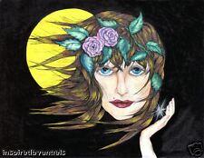 Came 2 Believe Healing Art by Drunken Angel Artist Marjorie Rose Signed 11 by 14
