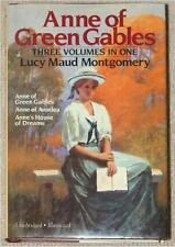 ANNE OF GREEN GABLES House of Dreams AVONLEA ~ LM MONTGOMERY ~ ILLUS 3 IN 1 HC