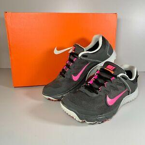 Women's Nike Zoom Wildhorse GTX Trail Running Shoes Ash/Hyper Pink Size UK 5.5