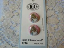 New listing Card 100 Year Anniversary Peter Rabbit Buttons Mama New York 1976 Made Japan