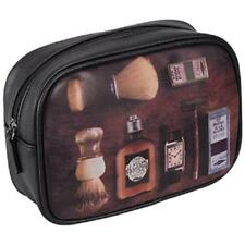 Kingsley MEN'S PATTERN WEEKENDER TRAVEL/TOILETRIES DOPP BAG/CASE Great Gift NEW