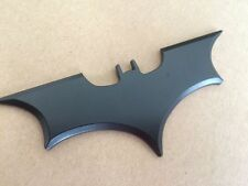 New Style 3D Metal Black Bat Auto Car Sticker Batman Badge Emblem Tail Decal