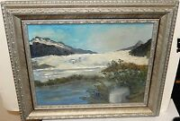KOSIK ORIGINAL OIL ON BOARD SEASCAPE PAINTING