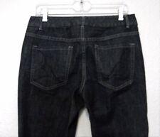 Coldwater Creek Spirit Jeans 10 Black Boot Cut Waist 33 Inseam 27.5 Cotton